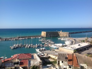 Crete-port of Heraklion